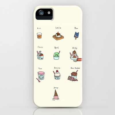 Parks and Rec Ice Cream iPhone & iPod Case by Tyler Feder - $35.00