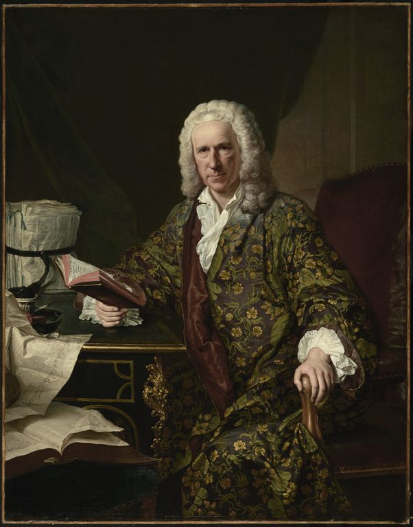 Portrait of Marc de Villiers -- Jacques-André-Joseph Aved (French, 1702 - 1766) -- Paris, France; 1747 -- Oil on canvas -- 148.6 x 114.9 cm (58 1/2 x 45 1/4 in.)