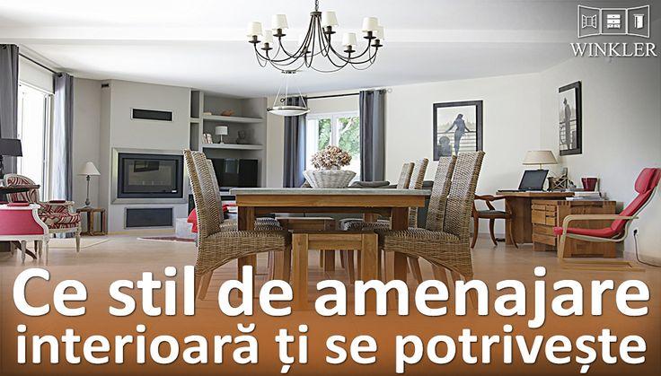 Te muți într-un apartament nou? Vrei să îți reamenajezi casa? Află mai întâi ce stil de amenajare interioară ți se potrivește.