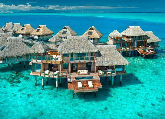 Bora Bora, TAHITI - The Hilton Bora Bora Nui Resort & Spa: Bucketlist, Favorit Place, Nui Resorts, Buckets Lists, Hilton Bora, Dream Vacations, Best Quality, Travel, Borabora