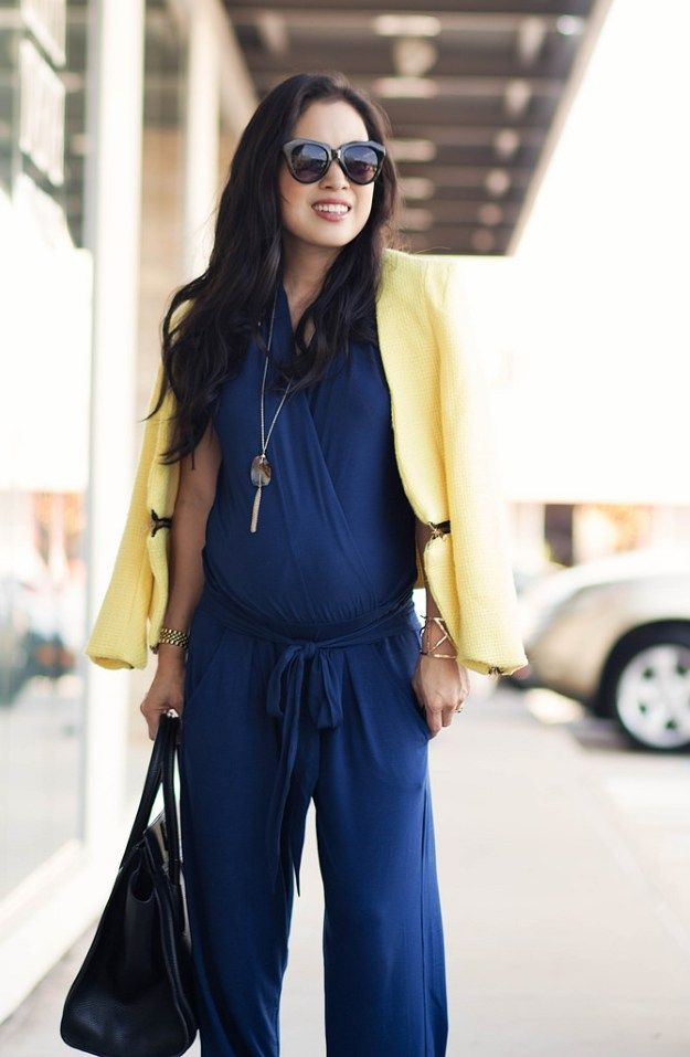 Comfortable Jumpsuits   Fall Maternity Fashion, check it out at http://youresopretty.com/fall-maternity-clothes