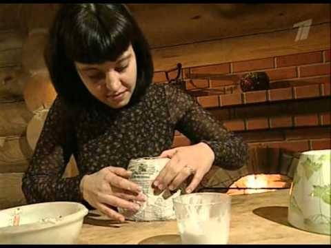Куклы из Папье Маше Своими Руками   Как сделать массу папье маше   Мастер класс