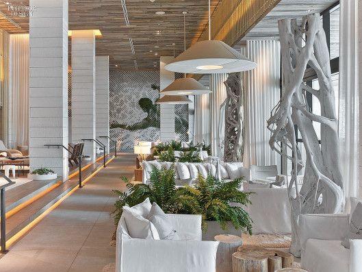 hotel lobby beach rustic - Google Search