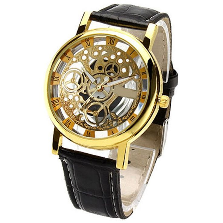 New Hot Men's Women's Roman Numerals Faux Leather Band Skeleton Analog Sports Dress Wrist Watch #electronicsprojects #electronicsdiy #electronicsgadgets #electronicsdisplay #electronicscircuit #electronicsengineering #electronicsdesign #electronicsorganization #electronicsworkbench #electronicsfor men #electronicshacks #electronicaelectronics #electronicsworkshop #appleelectronics #coolelectronics