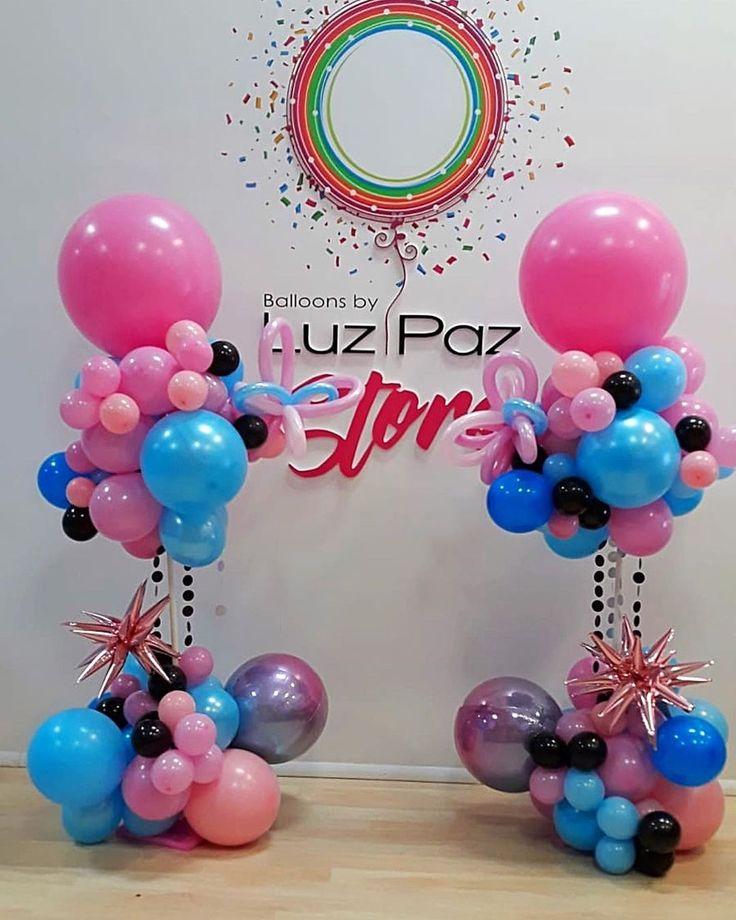 Luz Paz On Instagram Tiktok Es Un Exito Todos Quieren Celebrar Con El Tema Que Les Parecen Estas Columnas Balloons Balloon Decorations Birthday Parties