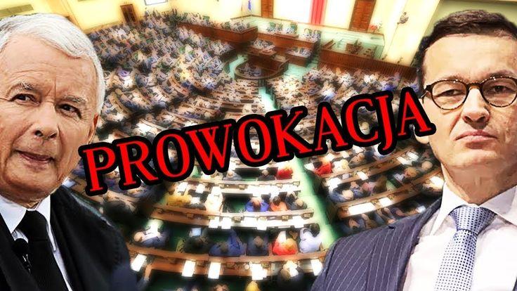PiS Obstawia Się Policją! PROWOKACJA ? Expose Mateusza Morawieckiego w S...