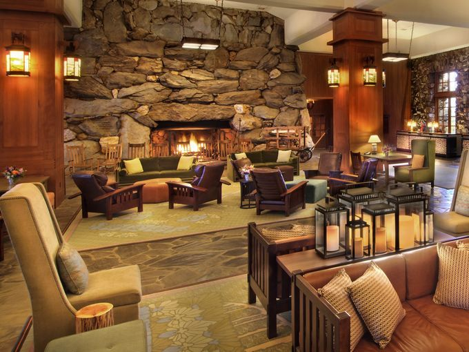 10 best places to curl up by a hotel fireplace - The historic Grove Park Inn in Asheville, N.C., offers a variety of cozy niches to warm up guests around its twin lobby fireplaces - both 14 feet wide!