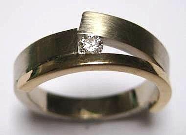 Gedenksieraden: vermaakte trouwring