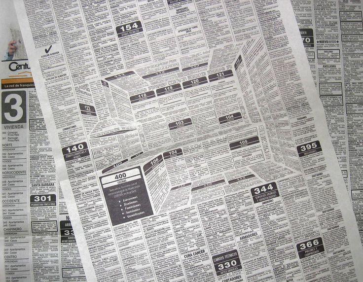 HiperCentro - Newspaper Ad By Felipe Salazar