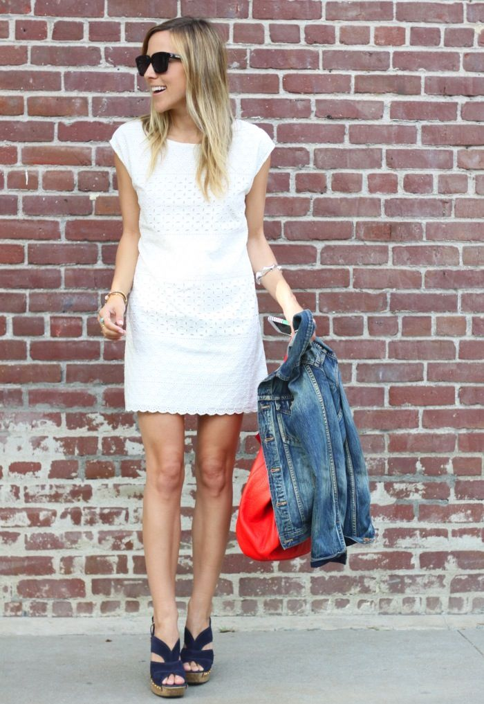 Sooo ready for Summer!!! Love white dresses during summer..dress them up..dress them down. Just adorable ;)