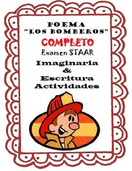 POEMA COMPLETO Los Bomberos This is an excellent poem to teach about free verse.  This poem contains two different writing organizers options as well as two different imagery organizers.  Students can choose or you the teacher can pick which one will best fit your classroom environment both organizers are great it just depends which route you are taking with this poem.