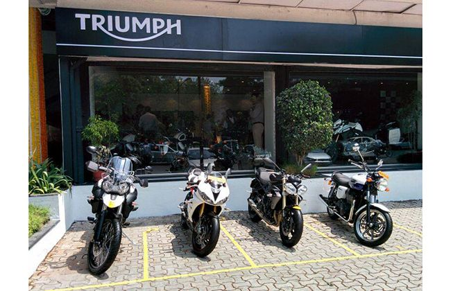 Triumph Motorcycles India inaugrates dealership in Pune; bikes, prices