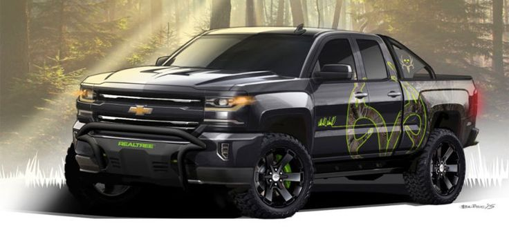 """The Chevy Silverado """"Bone Collector"""" sounds intense but actually seems remarkably practical. I dig what a few tubes of steel does for the look and I wish GM would offer this bed drawer system as a factory option, like, yesterday."""