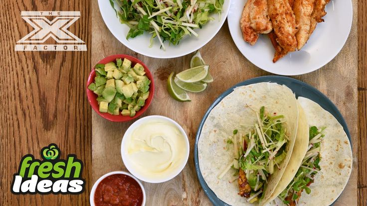 Mexican Taco Recipe with Crunchy Salad - with Luke Jacobz from The X Factor #Woolworths #Recipe #FreshFoodPeople #FreshIdeas #Video #XFactor #LukeJacobs #Mexican #Tacos
