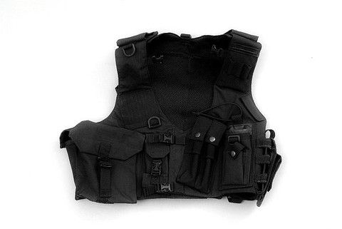 OMER1 TACTICAL RAPPELLING VEST SWAT TYPE