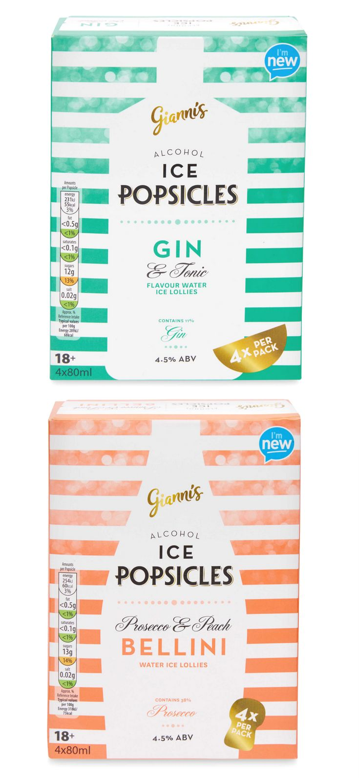 Get me to Aldi right now! Prosecco or Gin Ice Pops? I NEED both!