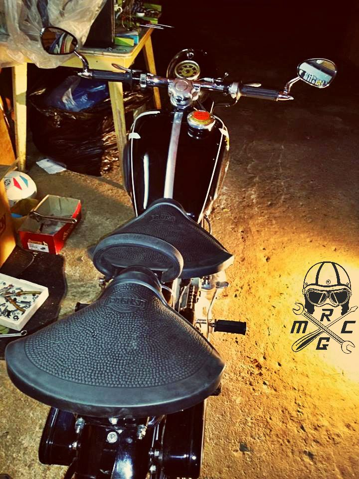putting together all the parts! #NSU #motorcycle #Restoration