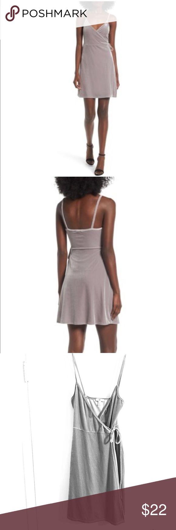 🎀 BP Velvet Wrap Dress Worn for a few hours, great condition! bp Dresses Mini