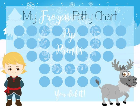 Potty training is a tough business! Motivate your little one with this cute potty chart. Mark off their achievements with stickers, smiley faces, or