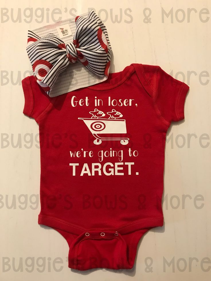 We're Going to Target Onesie/T-Shirt — Buggie's Bows & More