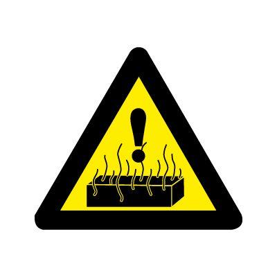 Giv agt! Stærk varme - Køb Advarselsskilte online nu