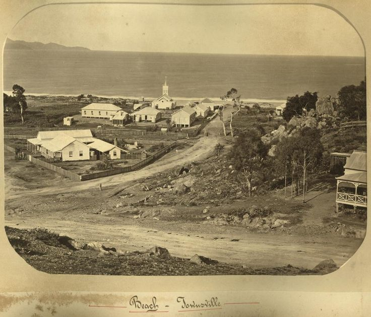 Townsville waterfront ca1880