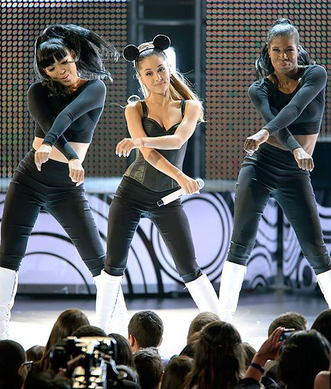 Dancing Disney Star! Ariana Grande performs at the Radio Disney Music Awards, which aired on April 27.