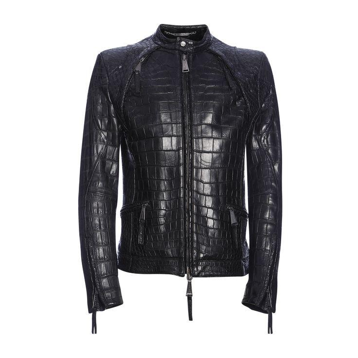 Philipp Plein Crocodile Biker Jacket My Style