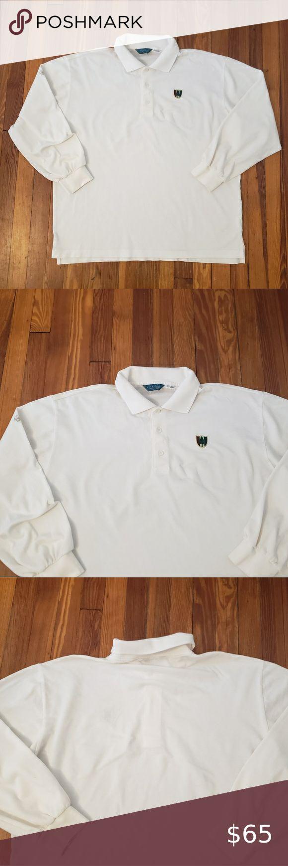 Pine Valley Golf Club Members Logo Long Sleeve Pol Pine ...