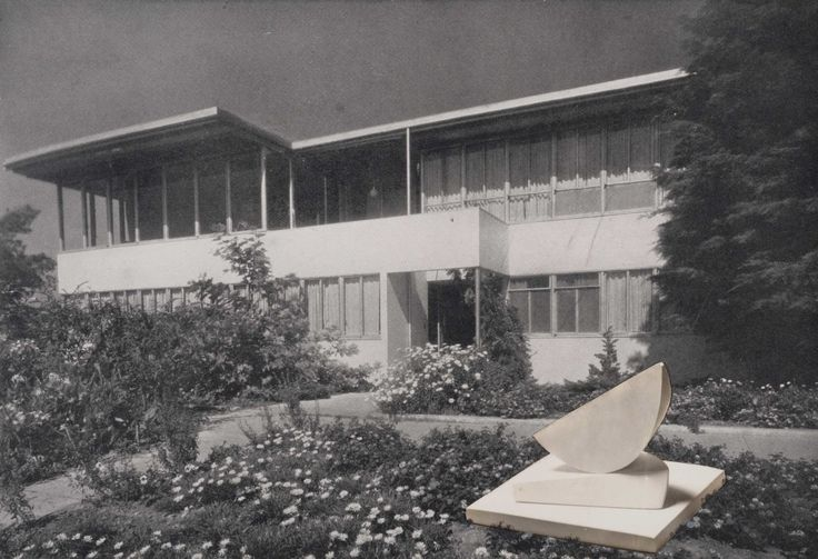photo collage with two segments at richard neutras silver lake house in los angeles 1939 barbara hepworth the hepworth photograph collection pinterest