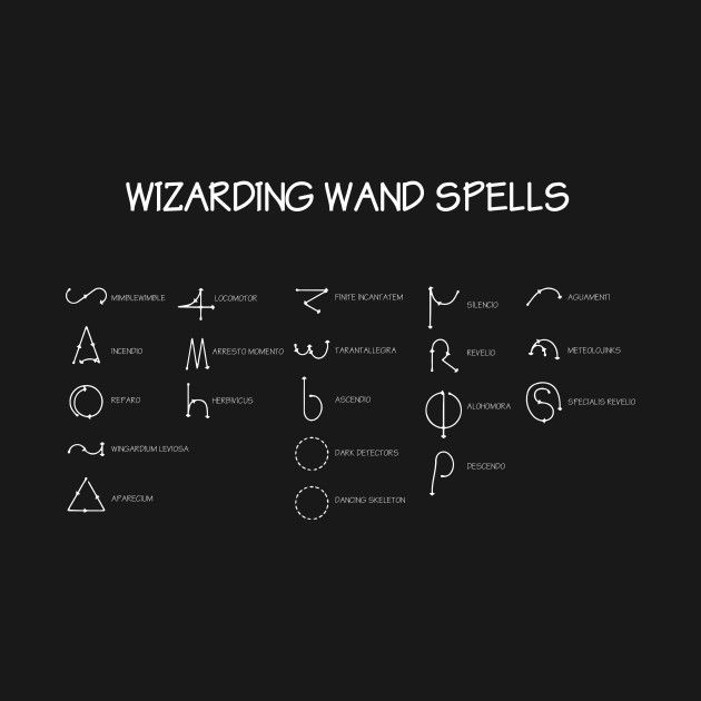 Check Out This Awesome Harry Potter Wand Spells Diagram Design On Teepublic Harry Potter Zauberbuch Harry Potter Tumblr Harry Potter Zauberstab