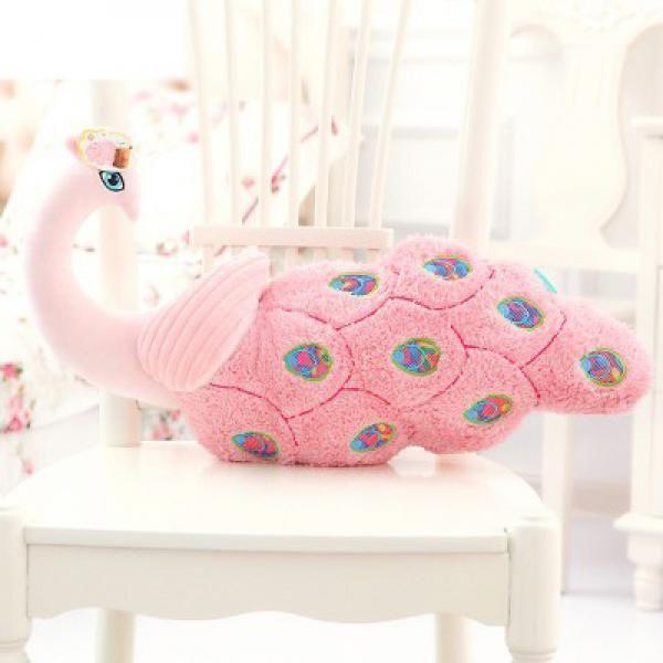 Animal Pillow Pinterest : 3D peacock pillows for home decorative bird plush toys Animal pillow Pinterest D, Peacocks ...