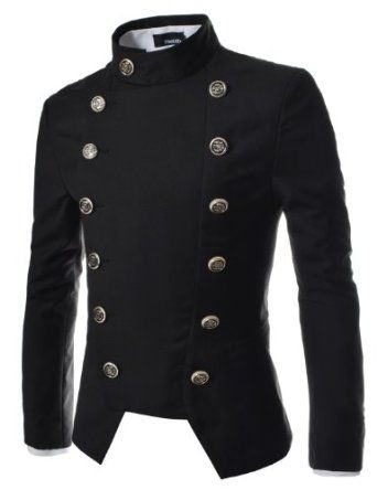 The Lees Mens Double Breasted Slim Fit Jacket Blazer