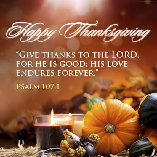 Happy Thanksgiving Give Thanks