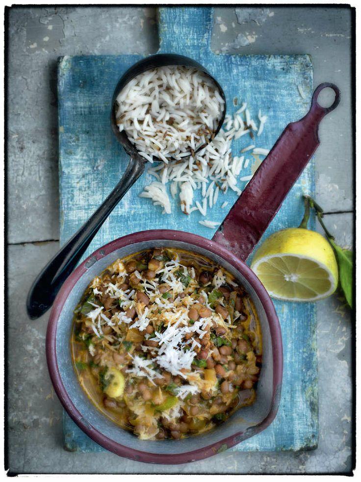 Madhur Jaffrey's Aduki Bean Curry