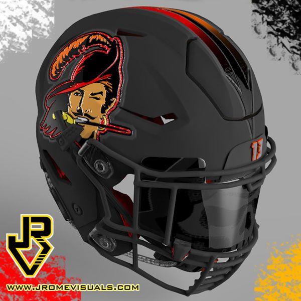 Tampa Bay Buccaneers Cool Football Helmets Football Helmets Nfl Football Helmets