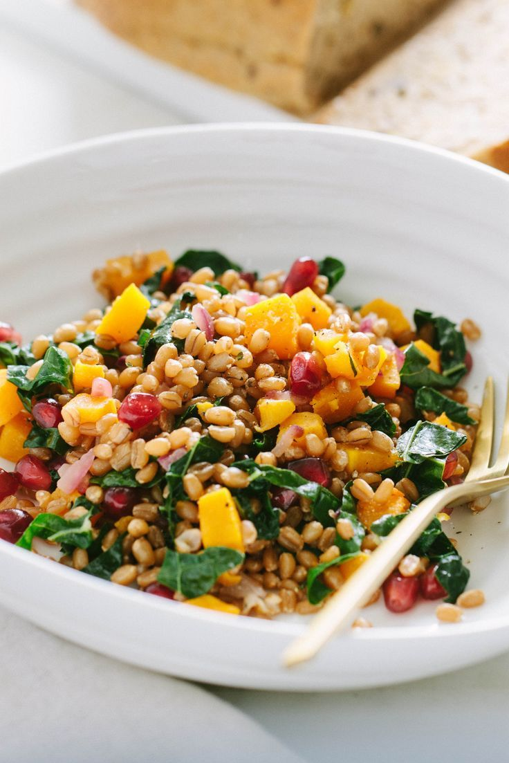 how to make wheat berry salad