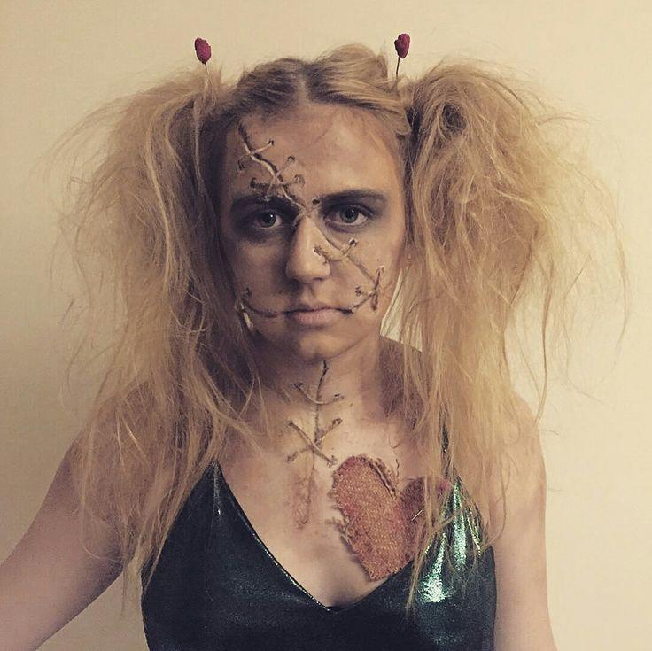 ber ideen zu voodoo doll makeup auf pinterest halloween make up puppen halloween. Black Bedroom Furniture Sets. Home Design Ideas