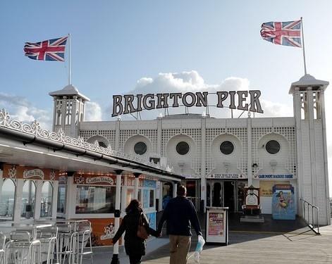 Brighton Pier, Brighton England by sara