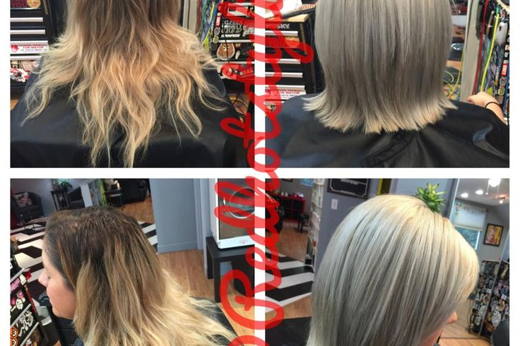 When colorist Bryce Sampson's client asked him to help her grow out her natural hair color, he created a color formula to show off her silver, white strands and stop box coloring her hair.