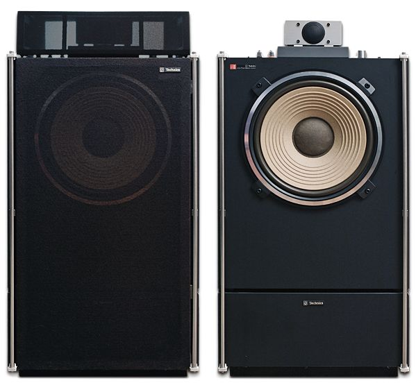"""TECHNICS SB-6000. If I remember correctly these were """"phase aligned"""" and sounded remarkably good especially for a Japanese design and import."""