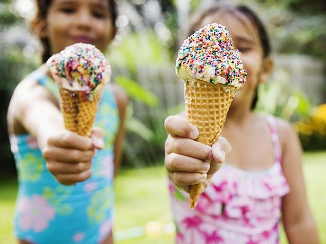 How to plan a ice cream social.