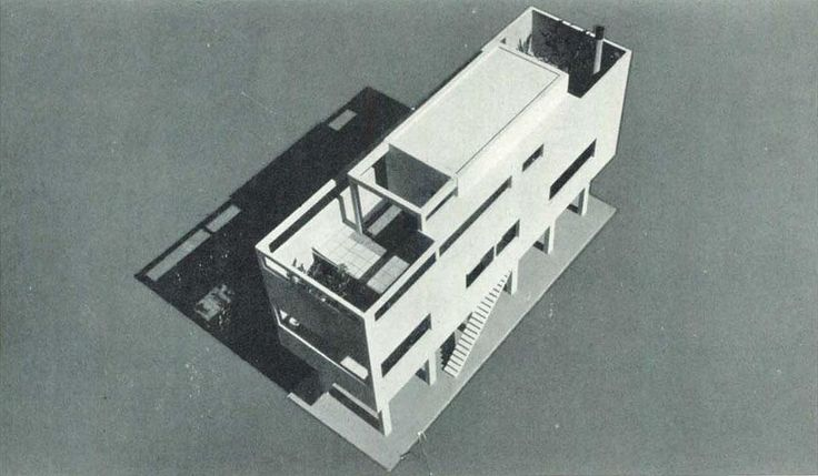 An architect's house from the 1930s— Luigi Figini designed and built this house in 1934-35.