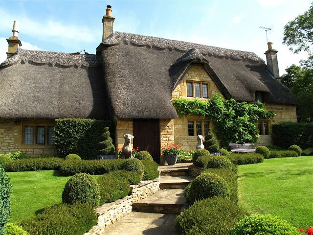 Thatched Cottage, Chipping Campden,  England