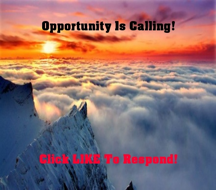 Opportunity Is Calling!