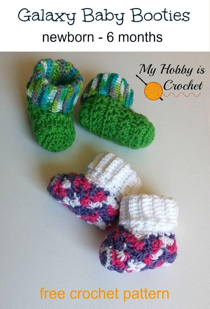 Easy Crochet Baby Booties - Free Crochet Pattern | Rich ...