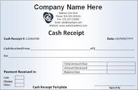 Image result for cash receipt