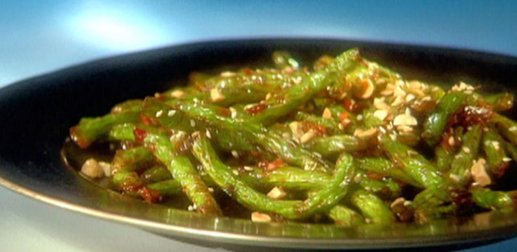 Szechuan Green Beans By Guy Fieri