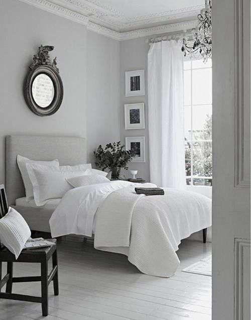Idee camera da letto color tortora - Camera da letto elegante
