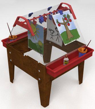ChildBrite Indoor/Outdoor Toddler Easel - SensoryEdge